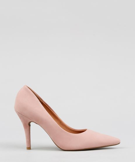 Scarpin-Feminino-Bico-Fino-Vizzano-em-Suede-Rose-9410612-Rose_1