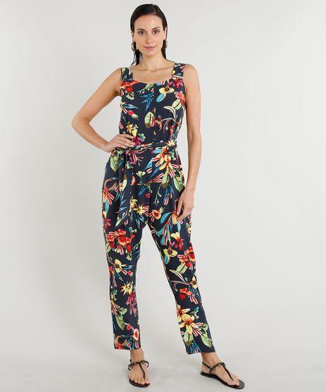 Macacao-Feminino-Lenny-Niemeyer-Estampado-Floral-com-Faixa-para-Amarracao-Azul-Marinho-9257055-Azul_Marinho_1