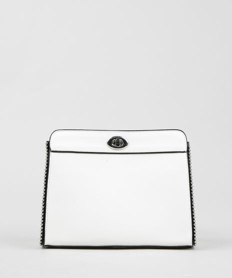 Bolsa-Feminina-com-Tachas-e-Alca-com-Corrente-Branca-9294933-Branco_1