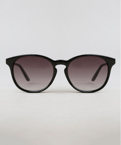 5d642e3fa Óculos de Sol Redondo Feminino Lenny Niemeyer Preto - cea
