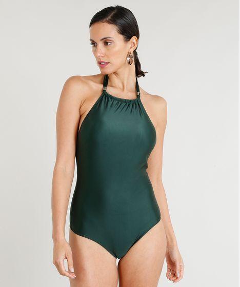 e599a1f4f Maiô Body Feminino Lenny Niemeyer Frente Única Com Bojo com ...