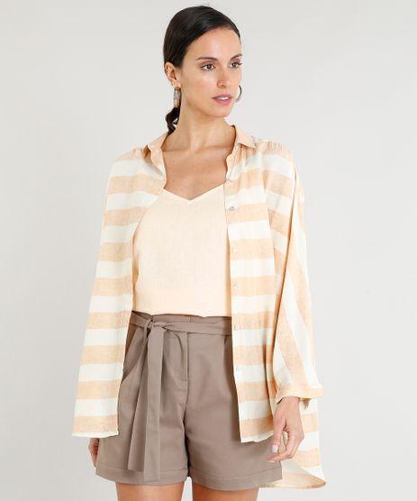 Camisa-Feminina-Lenny-Niemeyer-Listrada-Ampla-Manga-Morcego-Bege-Claro-9256579-Bege_Claro_1