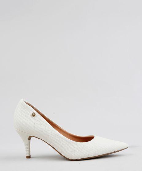 a1b8c44f82 Scarpin-Bico-Fino-Feminino-Vizzano-Texturizado-Off-White-