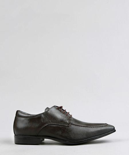 8a0454788 Sapato Social Masculino com Cadarço Marrom | Menor preço com cupom