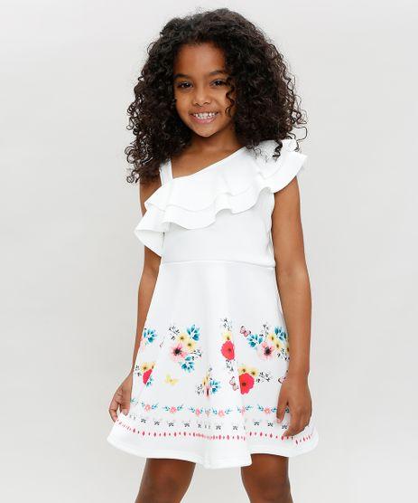 Vestido-Infantil-Um-Ombro-So-com-Estampa-Floral-com-Babado--Branco-9366199-Branco_1