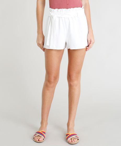Short-Clochard-Feminino-em-Linho-com-Faixa-de-Amarrar-Off-White-9260045-Off_White_1