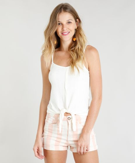 Regata-Feminina-Canelada-com-No-e-Botoes-Alcas-Finas-Decote-V-Off-White-9337371-Off_White_1