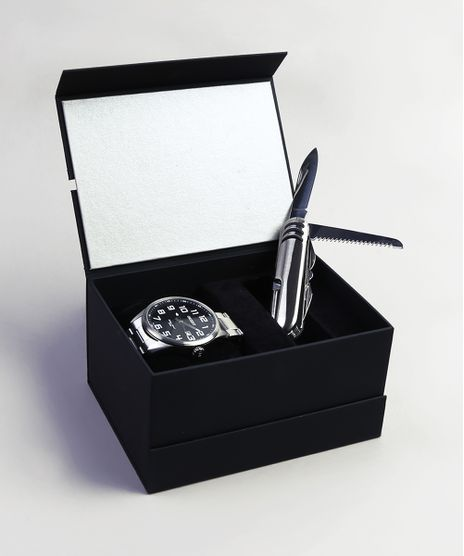 Kit-de-Relogio-Analogico-Orient-Masculino---Canivete---MBSS1271-KF26P2SX-Prateado-9401261-Prateado_1