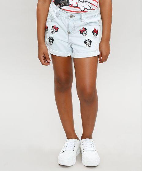 Short-Jeans-Infantil-Minnie-com-Bordados-Azul-Claro-9359234-Azul_Claro_1