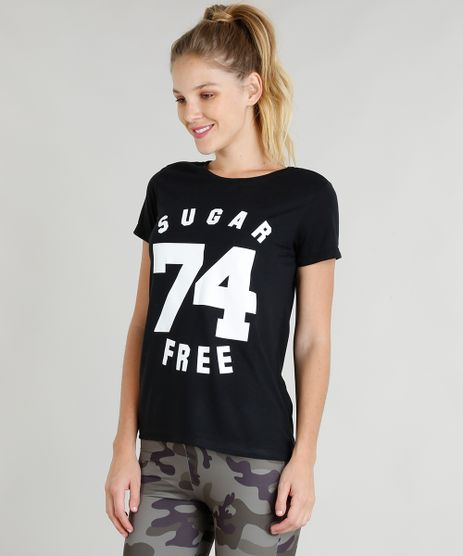 Blusa-Feminina-Esportiva-Ace--Sugar-Free--Manga-Curta-Decote-Redondo-Preta-9321306-Preto_1