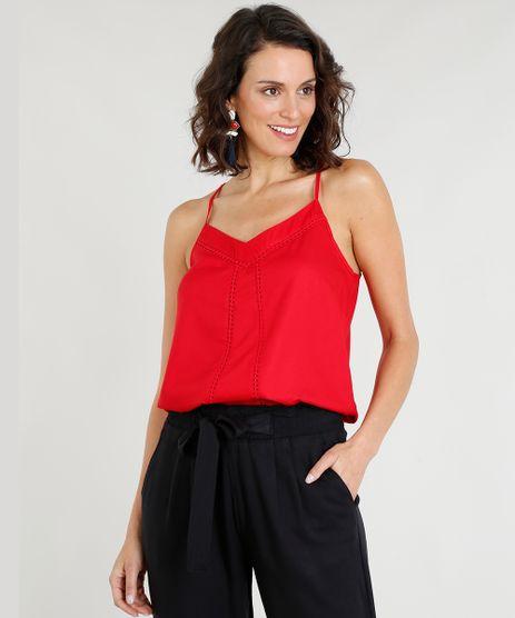 Regata-Feminina-Ampla-Decote-V-com-Renda-Vermelha-9273825-Vermelho_1