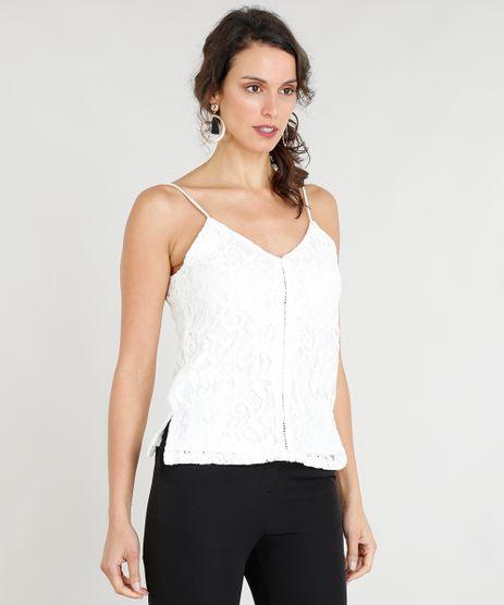 Regata-Feminina-em-Renda-Alcas-Finas-Decote-V-Off-White-9265945-Off_White_1