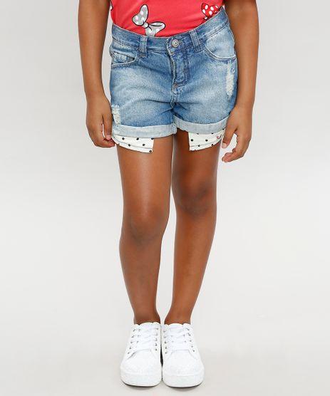 Short-Jeans-Infantil-Minnie-com-Estampa-de-Poa-no-Bolso-Azul-Claro-9359233-Azul_Claro_1