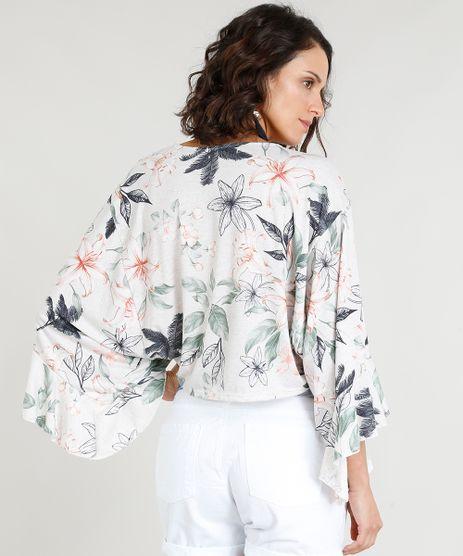 802274067f Blusa-Feminina-Cropped-em-Linho-Estampada-Floral-com-