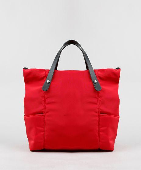 Bolsa-Feminina-Tote-com-Alcas-e-Bolso-Vermelha-9299923-Vermelho_1
