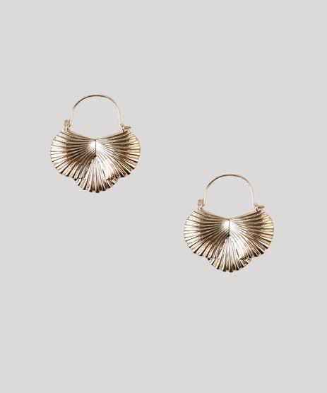 Brinco-Feminino-Conchas-Dourado-9272449-Dourado_1