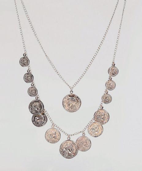 Colar-Feminino-Duplo-com-Medalhas-Dourado-9266571-Dourado_1