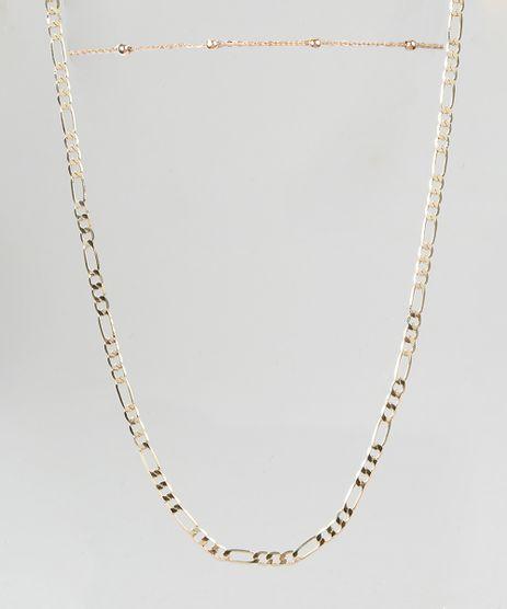 Kit-de-Gargantilha-Choker---Colar-em-Corrente-Dourado-9289566-Dourado_1