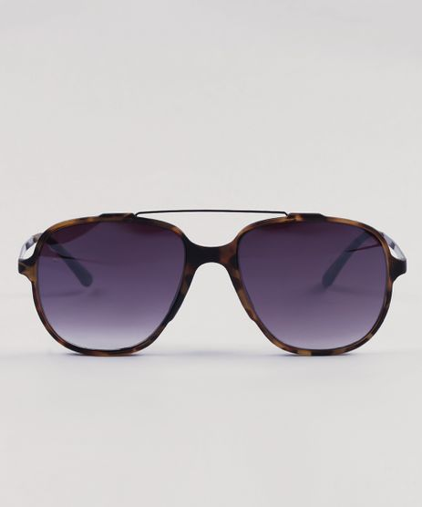 042ab0cfcd395 Oculos-de-Sol-Quadrado-Masculino-Oneself-Tartaruga-9430475-