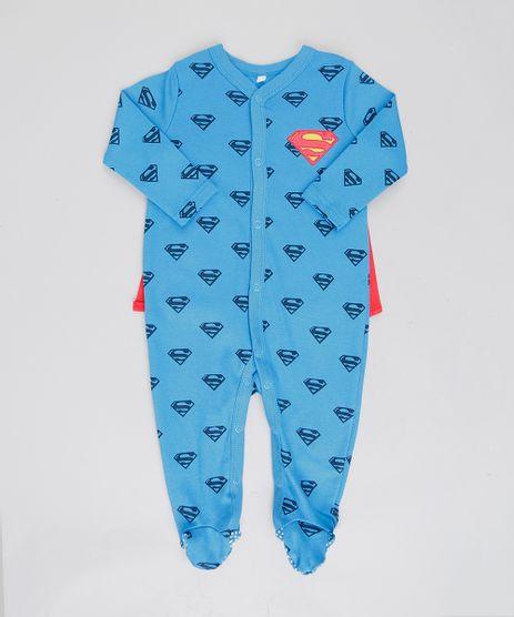 Macacao-Infantil-Super-Homem-Estampado-com-Capa-Removivel-Manga-Longa-Azul-Royal-9188429-Azul_Royal_1