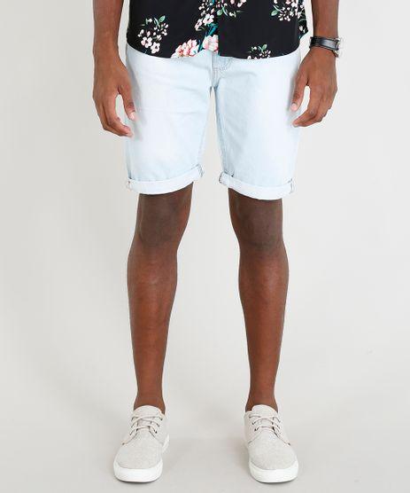 Bermuda-Jeans-Masculina-com-Cordao-Azul-Claro-9336594-Azul_Claro_1