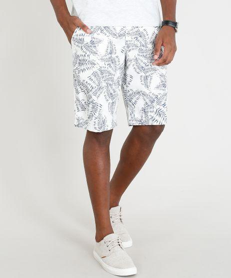 Bermuda-Masculina-Estampada-de-Folhagem-com-Cordao-Off-White-9293351-Off_White_1