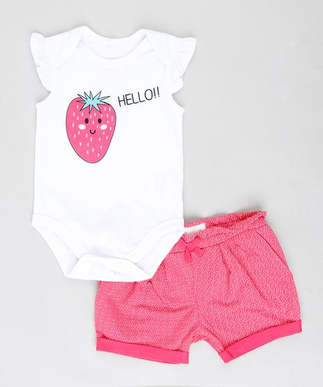 Conjunto-Infantil-de-Body-Morango-com-Babado-Branco---Short-em-Moletom-Estampado-Pink-9205738-Pink_1