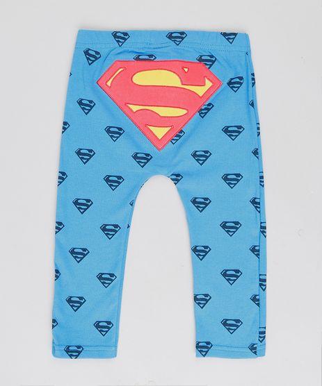 Calca-Infantil-Super-Homem-Estampada-Azul-9188427-Azul_1