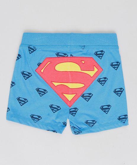 Short-Infantil-Super-Homem-Estampado--Azul-9188428-Azul_1
