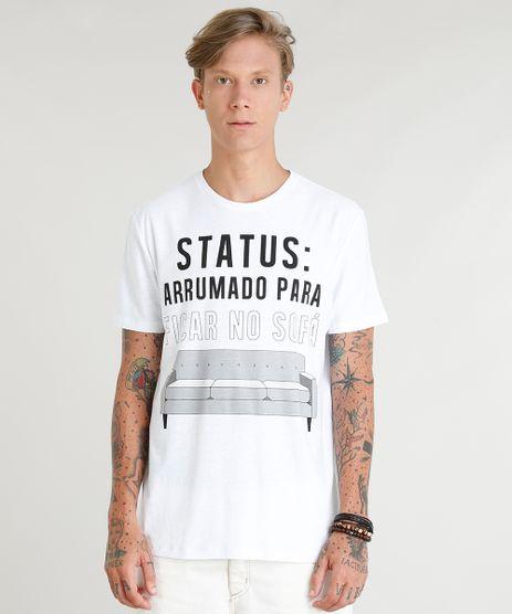 Camiseta-Masculina--Arrumado-Para-Ficar-No-Sofa--Manga-Curta-Gola-Careca-Branca-9350199-Branco_1