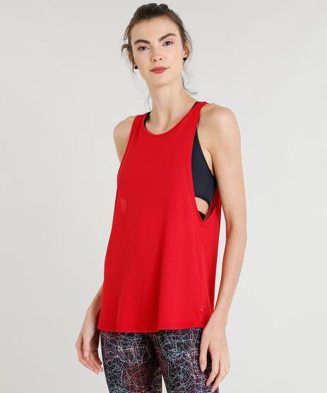 Regata-Feminina-Esportiva-Ace-Cavada-com-Vazado-Decote-Redondo-Vermelha-9316041-Vermelho_1