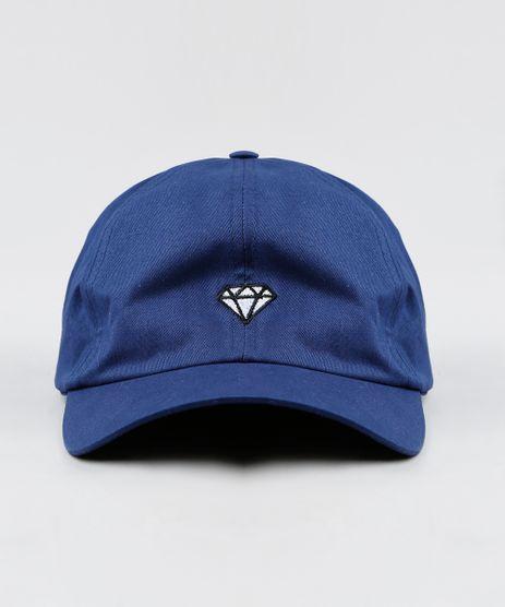Bone-Masculino-Aba-Curva-com-Bordado-Diamante-Azul-Marinho-9428167-Azul_Marinho_1