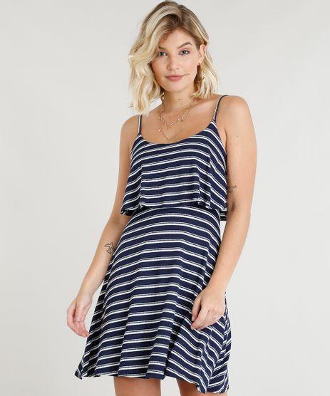 Vestido-Feminino-Curto-Evase-Listrado-com-Sobreposicao-Alcas-Finas-Azul-Marinho-1-9299016-Azul_Marinho_1_1