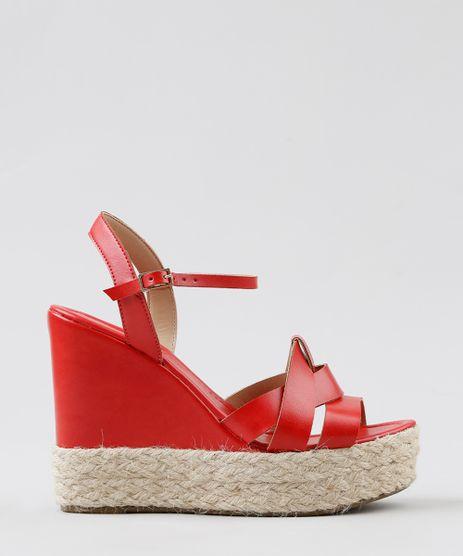 Sandalia-Plataforma-Feminina-com-Corda-Vermelha-9275227-Vermelho_1