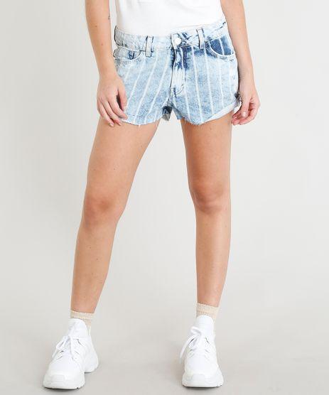 Short-Jeans-Feminino-Boy-Listrado-com-Barra-Dobrada-Azul-Claro-9386753-Azul_Claro_1