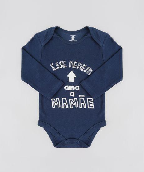 Body-Infantil--Esse-Nenem-Ama-a-Mamae--Manga-Longa-Gola-Careca-Azul-Marinho-9208137-Azul_Marinho_1