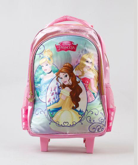 Mochila-Escolar-Infantil-com-Rodinhas-Princesas-Rosa-9235956-Rosa_1