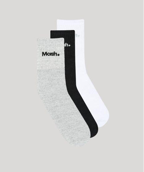 Kit-de-3-Meias-Masculinas-Mash-Cano-Medio-Multicor-9376848-Multicor_1