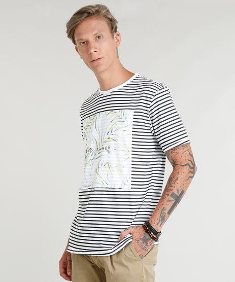 Camiseta-Masculina-Listrada-Manga-Curta-Gola-Careca-Branca-9350197-Branco_1