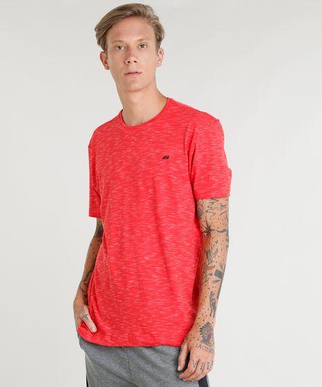 Camiseta-Masculina-Esportiva-Ace-Mescla-Manga-Curta-Gola-Redonda-Vermelha-9417824-Vermelho_1