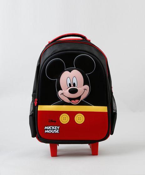 Mochila-de-Rodinhas-Infantil-Mickey-Mouse-Preta-9236011-Preto_1