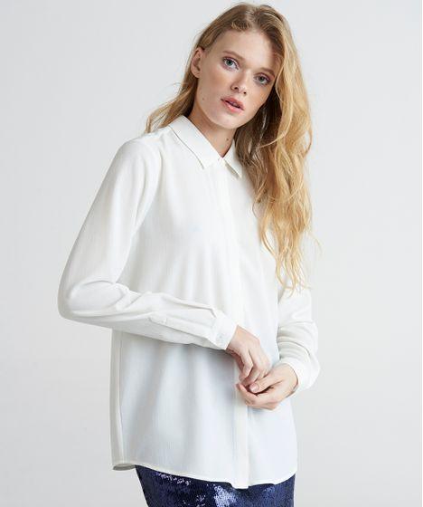 5f29d7ee16 Camisa-Feminina-Mindset-Manga-Longa-Branca-9385668-Branco 1 ...