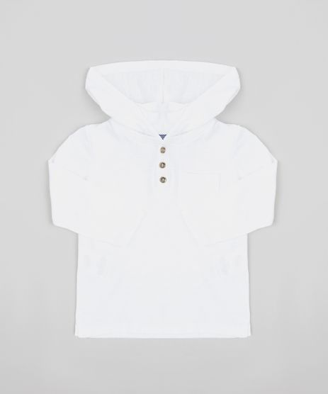 Camiseta-Infantil-com-Capuz-e-Bolso-Manga-Longa-Branca-9322935-Branco_1