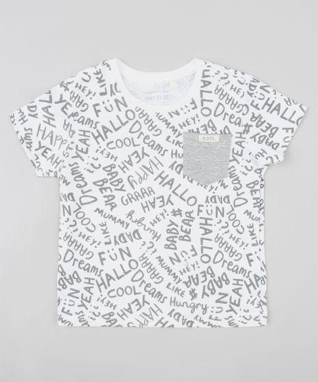 Camiseta-Infantil-Estampada-Palavras-com-Bolso-Manga-Curta-Gola-Careca-Branca-9407311-Branco_1