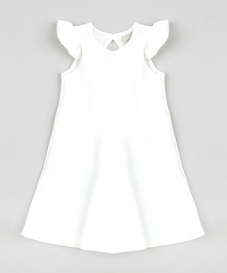 Vestido-Infantil-Evase-com-Babados-Sem-Manga-Off-White-9413302-Off_White_1
