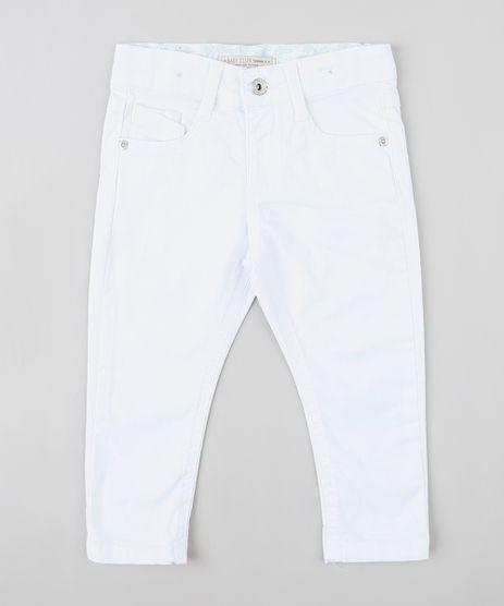 Calca-Infantil-Skinny-com-Puidos-Branca-9309936-Branco_1