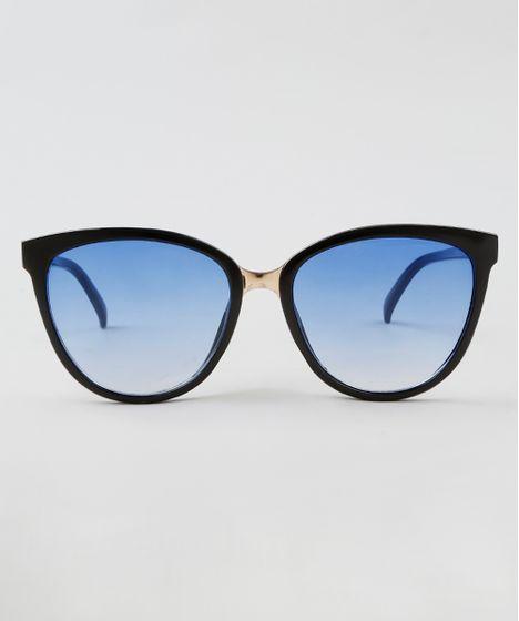 Oculos-de-Sol-Redondo-Feminino-Oneself-Preto-9464665- 9a59fa11dd