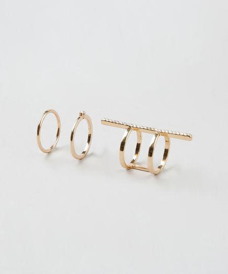 Kit-de-3-Aneis-Femininos-Dourado-9261507-Dourado_1