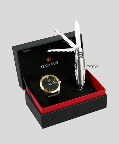 Kit-de-Relogio-Analogico-Technos-Masculino---Canivete- 3996291ab0