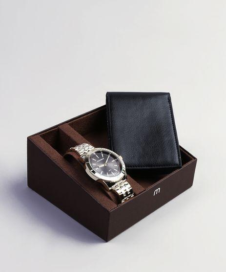 555b8051340af Kit-de-Relogio-Analogico-Mondaine-Masculino---Carteira-